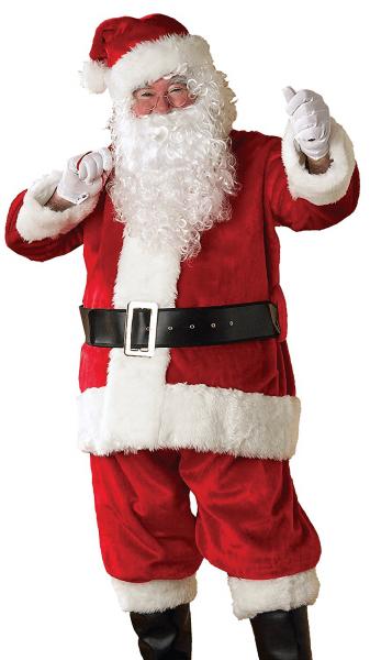 Rubie's Regency Plush Deluxe Santa Suit Costume 23342