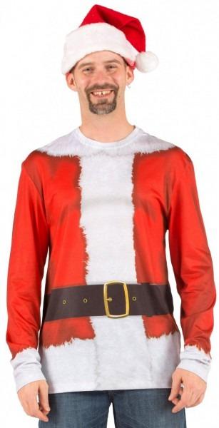 Santa Suit Long Sleeve Tee
