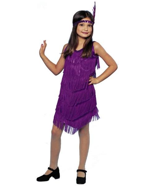 Sassy Flapper Kids 20s Costume