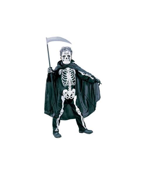 Scary Skeleton Kids Halloween Costume