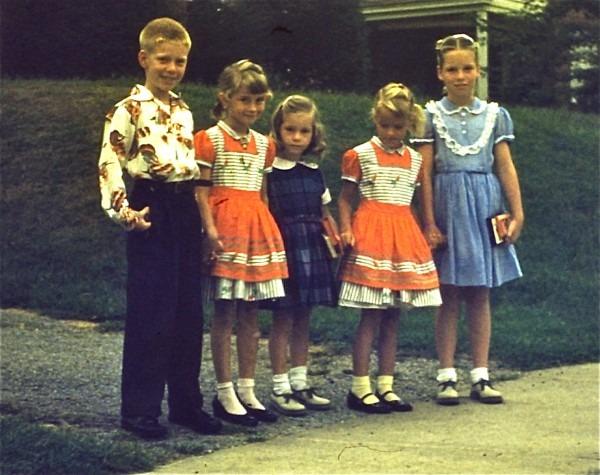 1950s Retrospective On Children's Fashions  Petticoats And Mary