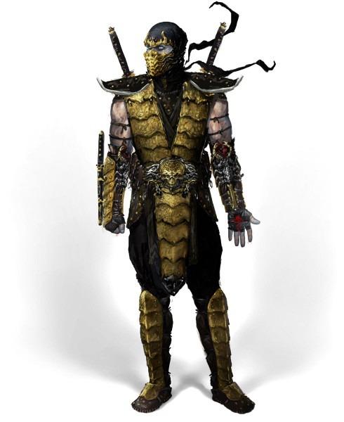 Scorpion From The Mortal Kombat