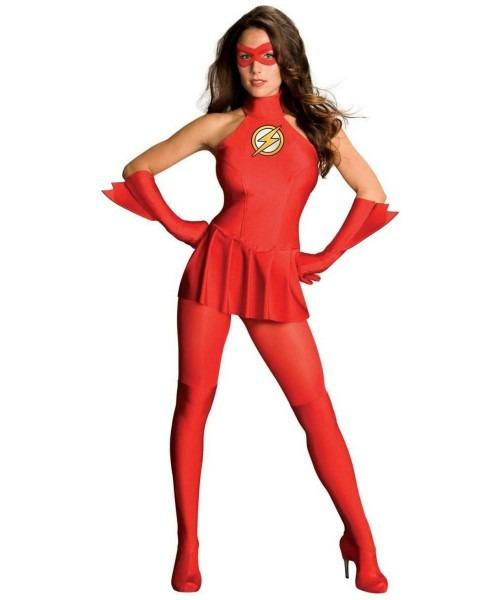 Adult The Flash Movie Superhero Costume