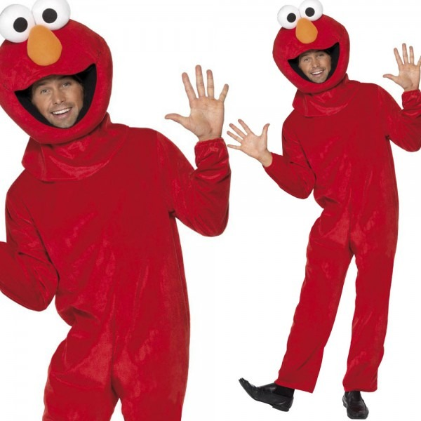 Sesame Street Fancy Dress Costume Elmo Cookie Monster, Elmo And