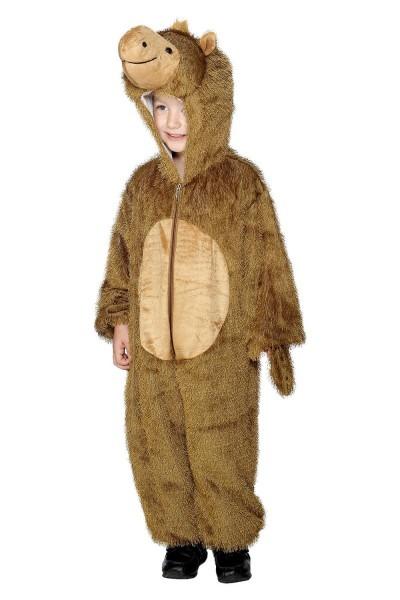 Camel Child Costume Desert Animal Jumpsuit W Hood Zip