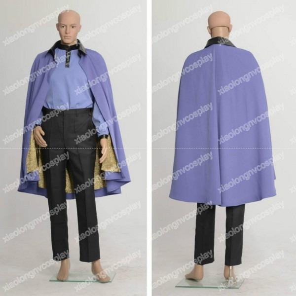 Star Wars Episode Vii 7 Lando Calrissian Cosplay Costume Halloween
