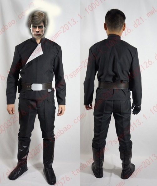 Star Wars Luke Skywalker Cosplay Costume With Shoe Covers And One