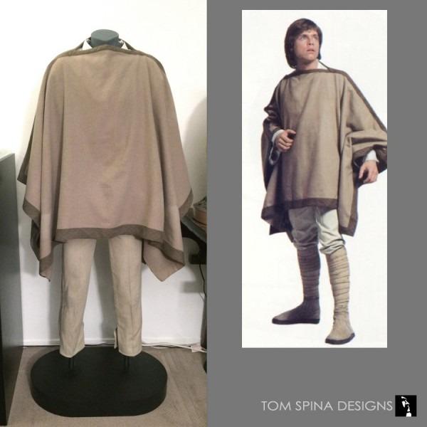 Luke Skywalker Costume Custom Museum Mannequin