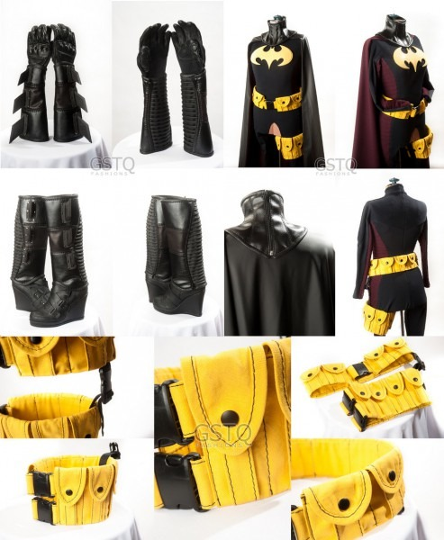 Batwoman Costume Accessories & Festnight Fun Batwoman Costumes