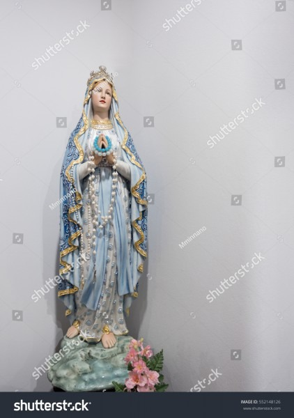 Our Lady Virgin Mary Mother God Stock Photo (edit Now) 552148126