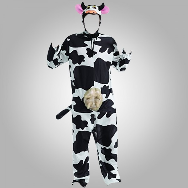 Go West Happy Cow Adult Cow Costume