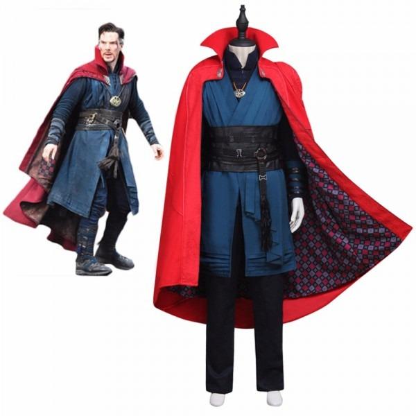Superhero Halloween Costumes Doctor Strange Cosplay Costume