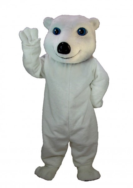 Buy White Bear Mascot Polar Bear Sports Mascots T0059 Mask Usa