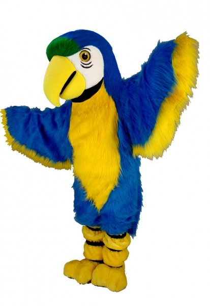 Buy Blue Macaw Parrot Mascot Bird Costume