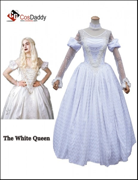 Alice's Adventures In Wonderland The White Queen Mirana Cosplay