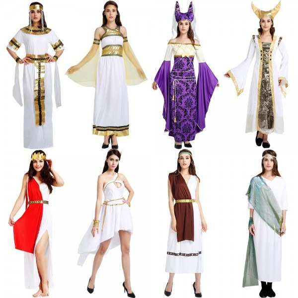 Halloween Costume Cos Show Masquerade Egyptian Male Pharaoh Adult