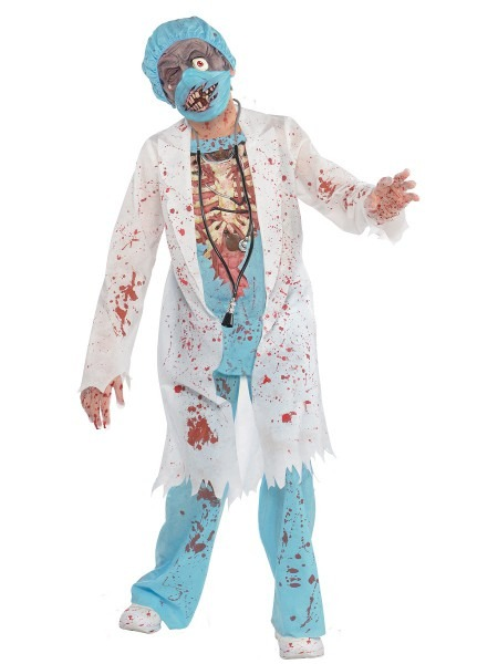 Teen Zombie Surgeon Costume