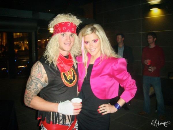 Throw Back Thursday  80's Hair Band Boy's Halloween Costume