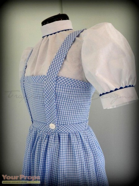 The Wizard Of Oz Dorothy Dress Replica Replica Movie Costume