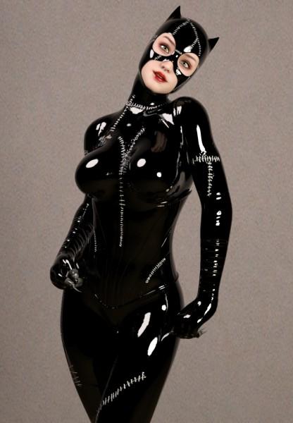Tim Burton Catwoman Cosplay