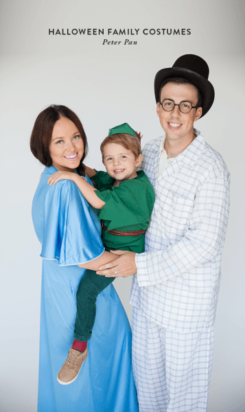 Halloween Family Costumes  Peter Pan