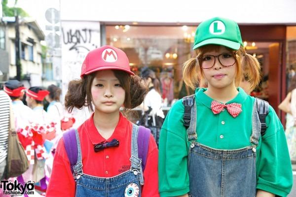 Mario And Luigi Cute Costumes & Cute Mario U0026 Luigi Girls In