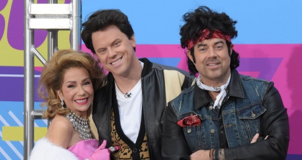 Today' Show Hosts Show Off Their '80s