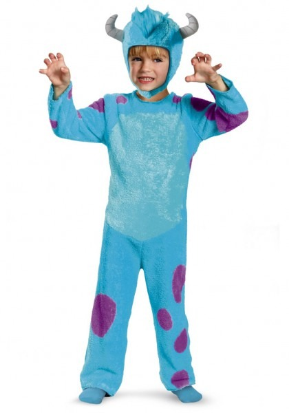 Toddler Classic Sulley Costume 3t Halloween Costumes Sully Scary