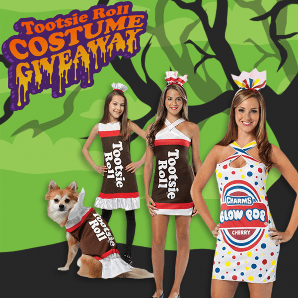 Win A Tootsie Roll Or Charms Blow Pop Halloween Costume!