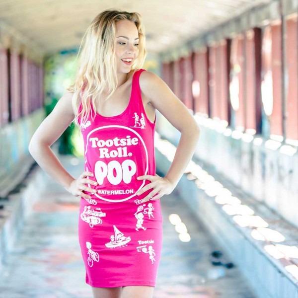 Tootsie Roll Pop Tank Dresses