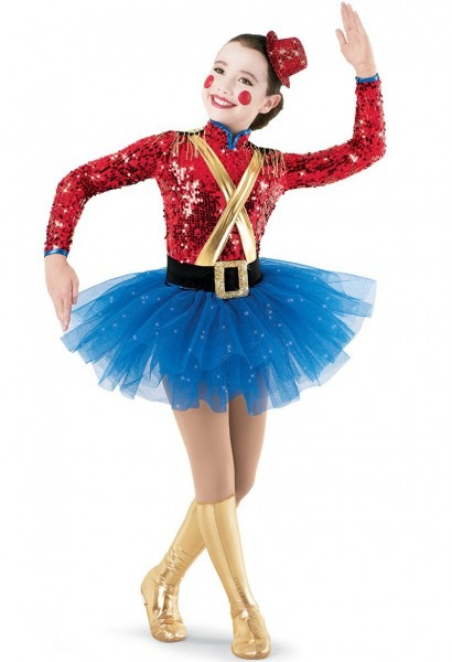 Toy Soldier Girl Costume