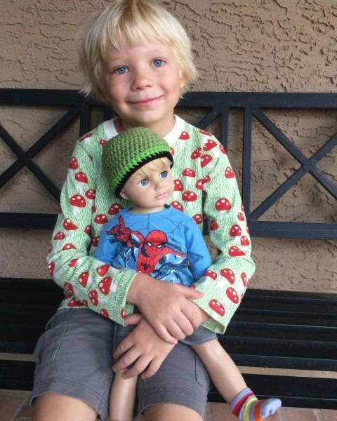 Mom Makes Son, 6, 'american Boy Doll' For Birthday