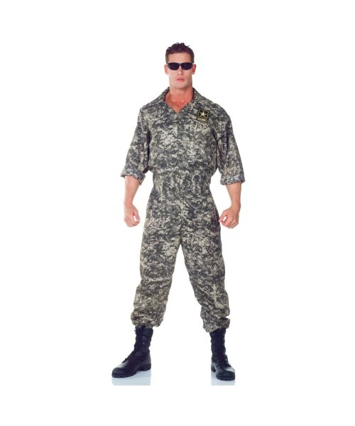 Army Us Adult Plus Size Costume