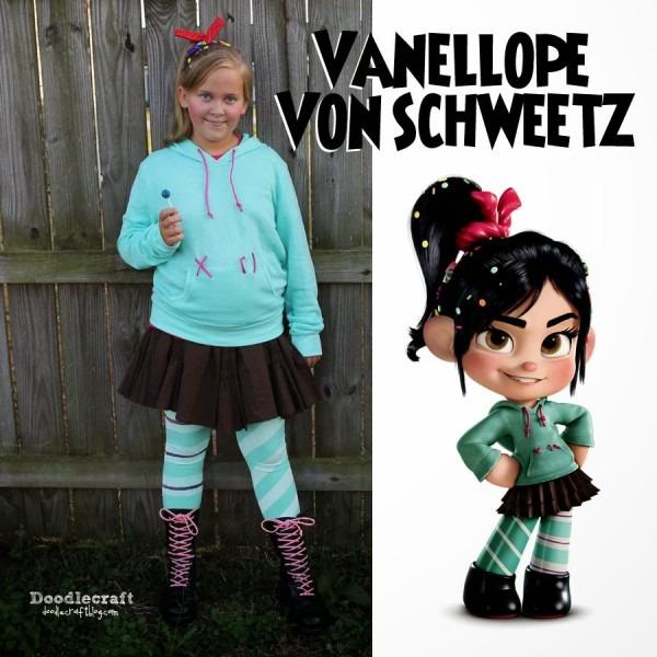 Doodlecraft  Vanellope Von Schweetz Costume!