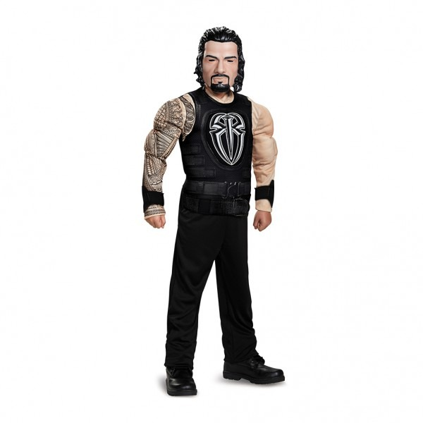 Roman Reigns Muscle Youth Halloween Costume