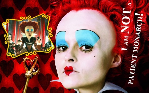 Alice In Wonderland (2010) Immagini Red Queen Wallpaper Hd