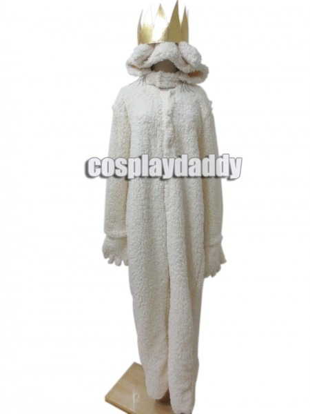 Where The Wild Things Are Wolf King Max Halloween Costume Hoodie