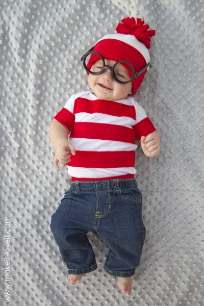 """Where's Waldo"""" Costume…in Less Than An Hour! – Make It And Love It"""