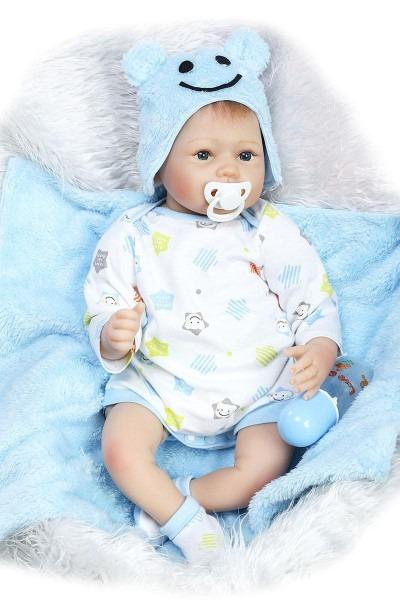 Wholesale Lifelike Reborn Toddler Doll Soft Vinyl Baby Boy That