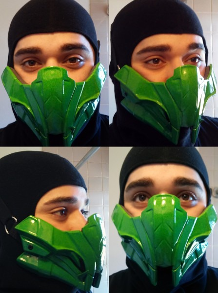 My Mkx Reptile Mask By Hiddenassassins [cosplay]   Mortalkombat