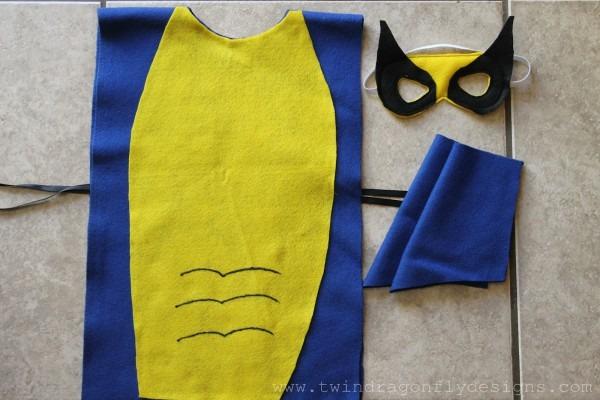 No Sew Super Hero Costumes Tutorial » Dragonfly Designs