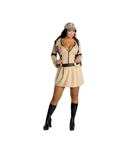 Adult Ghostbuster Halloween Costume Plus Size Costume