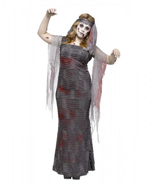Ghastly Zombie Mummy Womens Plus Size Costume