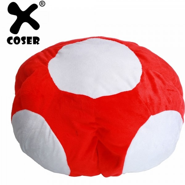 Xcoser Super Mario Bros Mario Luigi Cosplay Plush Halloween Hat