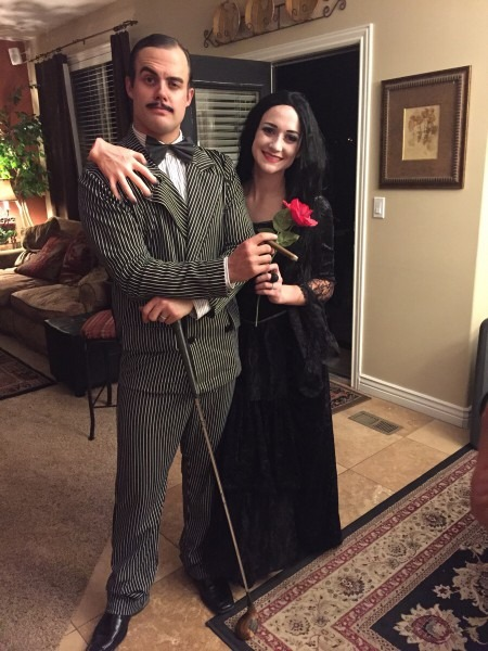 Pictures Of Morticia And Gomez Addams Costume