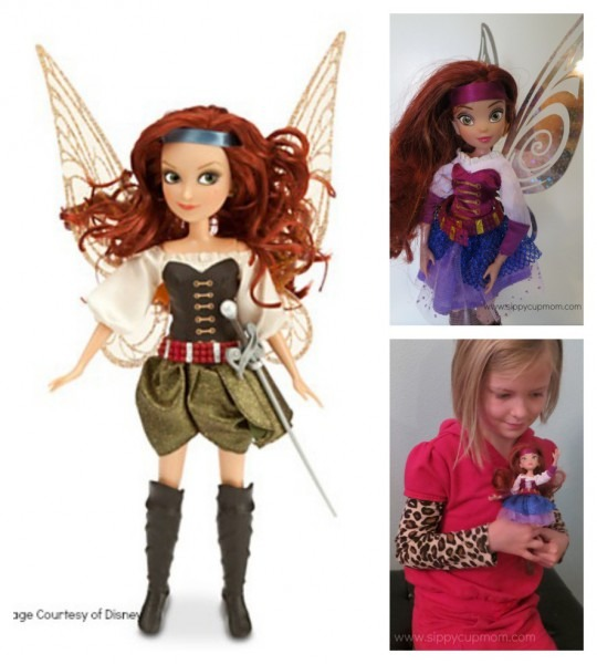 Disney's The Pirate Fairy Dolls, Books, Toys & Release Date