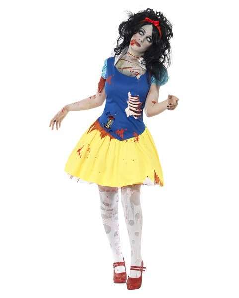 Zombie Snow White Costume I Cool Smiffys Zombie Costumes