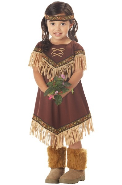 Lil' Indian Princess Toddler Costume
