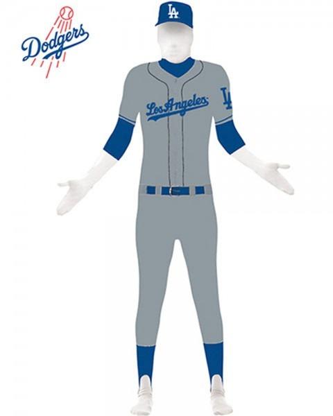 Halloweeen Club Costume Superstore  Los Angeles Dodgers Adult Skin