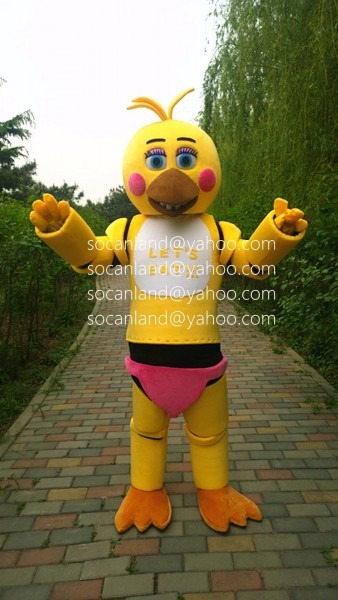 Fnaf Toy Chica Mascot,fnaf Toy Chica Costumes,fnaf Toy Chica